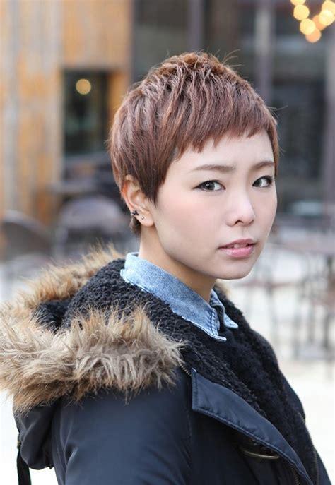 sharp sexy rihanna pixie cut boyish asian haircut