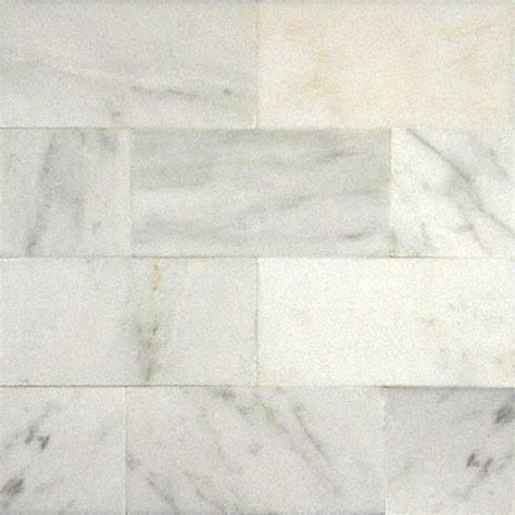 3x6 carrara marble tiles 3x6 polished arabescato carrara marble tile grey white sle traditional wall and floor