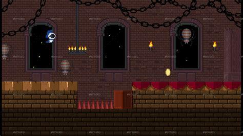 pixel castle game assets  redblackspade graphicriver