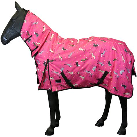 horse rug turnout pony fleece winter pink rain combo lightweight rugs heavy sheet stable horses le