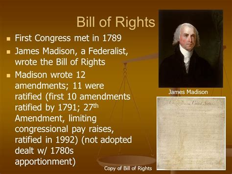 Who Wrote The Bill Of Rights ? Knowitall