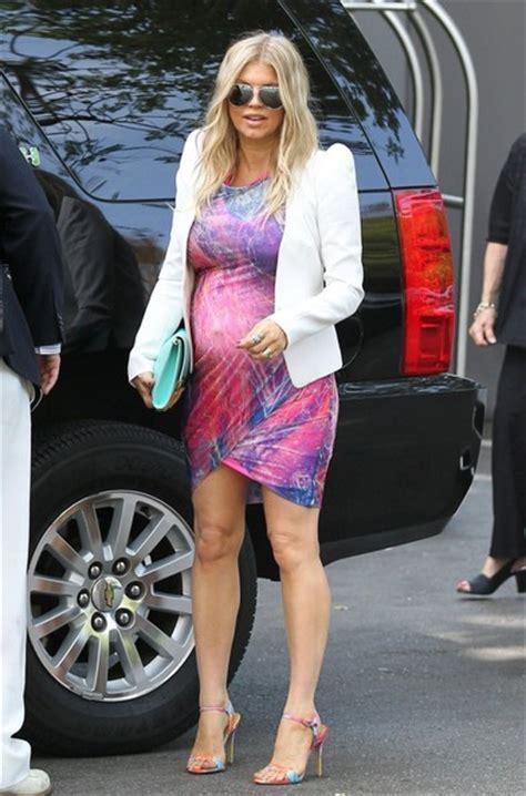 Fergie Pregnant Erinn Bartlett Leaving