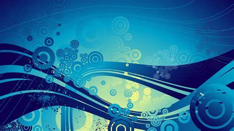 digital Art, CGI, Abstract, Blue, Circle, Waves, Wavy ...