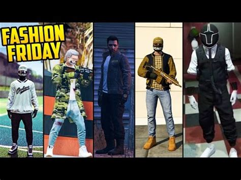 GTA Online FASHION FRIDAY! THE BEST OUTFITS! (RNG Outfits Snipers Corkers u0026 More) - YouTube