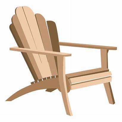 Adirondack Transparent Chair Clipart Armchair Svg Vector