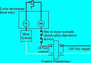 Iq Thermostat Field Wiring Home Wiring Has A Single Phase