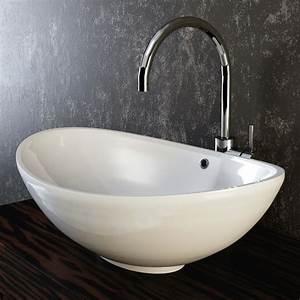 Küche Waschbecken Keramik : vilstein keramik waschbecken aufsatzwaschbecken ~ Lizthompson.info Haus und Dekorationen