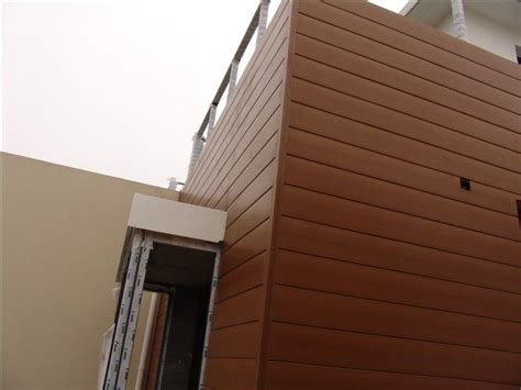 attractive outdoor wood plastic wall panel  commercial building plastic wall panels