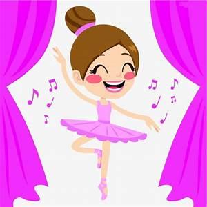 Cartoon Picture Of A Girl Dancing | Adultcartoon.co