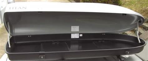 coffre de toit titan 450l neuf