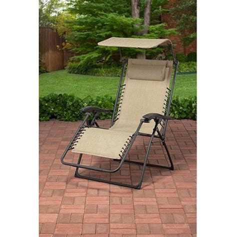 big and tall outdoor sling bungee lounger tan walmart com