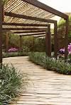 walkway covered modern trellis   infrastructure design covered garden walkway