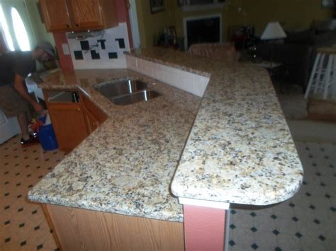 giallo napoli granite countertops installed nc 5