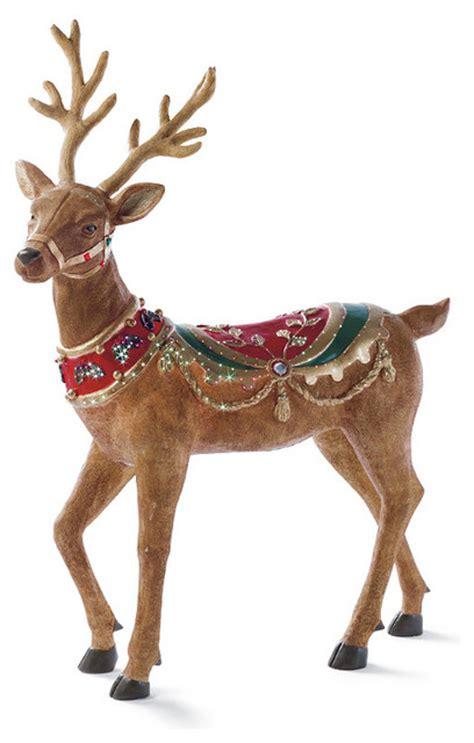 fiber optic head  reindeer frontgate outdoor