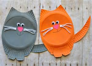 cat craft paper plate cat craft i crafty things