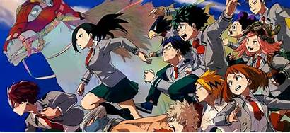 Hero Wallpapers Academy Academia Characters Boku
