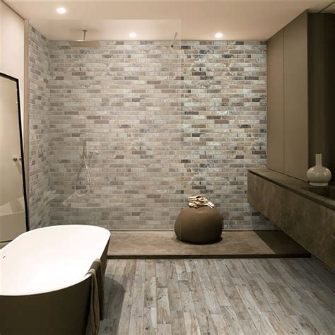 bathroom tile rondine living cenare wood effect porcelain wall and floor