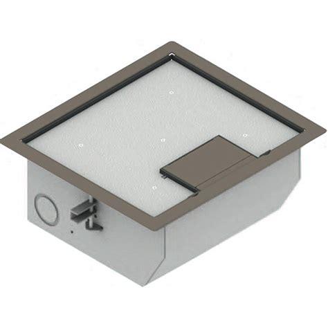 fsr 700 floor box fsr rfl qav cly raised access floor box clay rfl qav cly b h