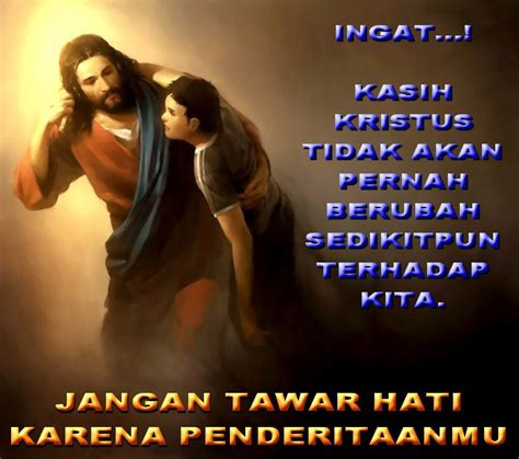 Semakin Ditindas Semakin Percaya Kepada Yesus (Refleksi