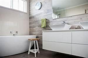 Uhr Für Badezimmer : 1001 ideen f r badezimmer ohne fliesen ganz kreativ ~ Orissabook.com Haus und Dekorationen