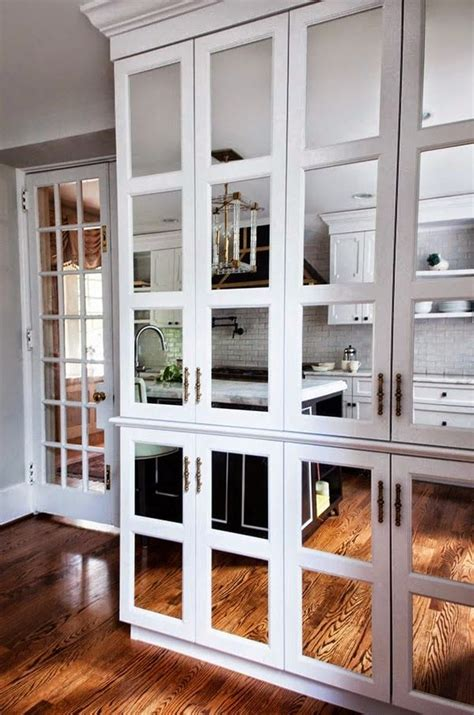 mirrored glass kitchen cabinets 1000 images about mirrored kitchen cabinet doors on