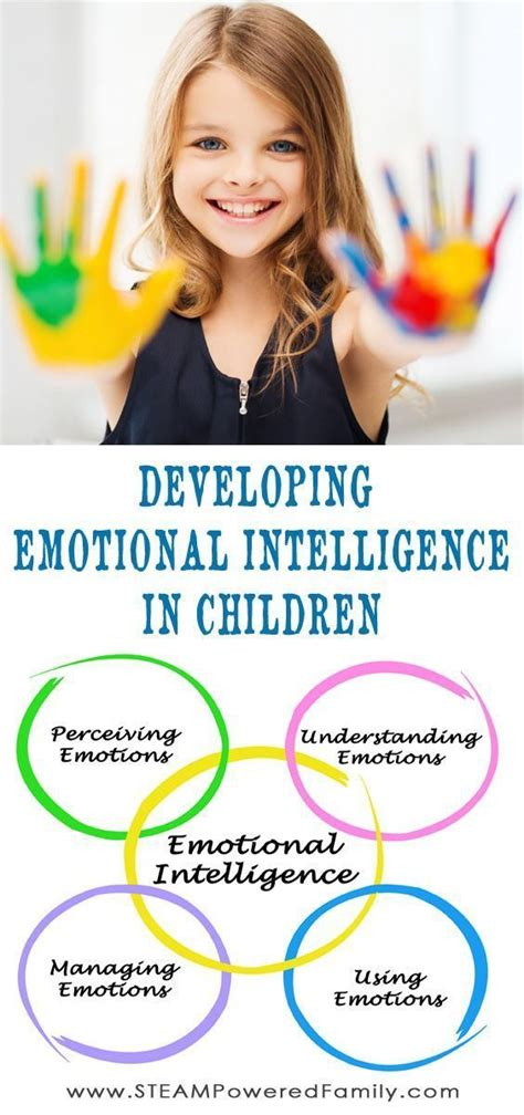 Developing Emotional Intelligence In Children All Things