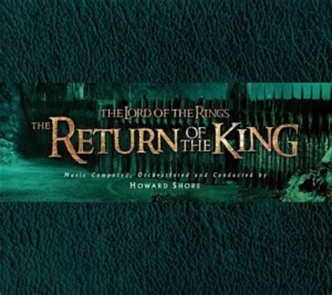 Amazon Com Burger King The Lord Of The Howard Shore The Lord Of The Rings Of The King