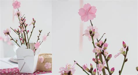 Origami facile : une fleur de cerisier Prima