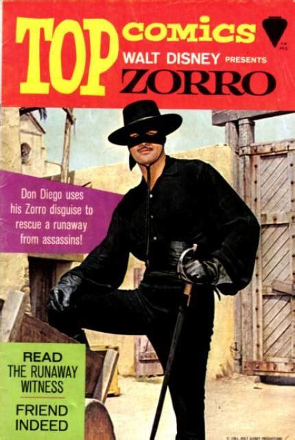 zorro disney walt comics presents publications comic