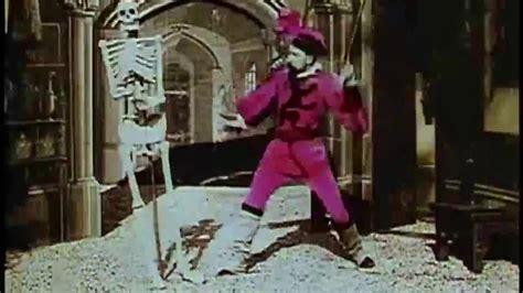 george melies short films le ch 226 teau hant 233 1897 the haunted castle silent short