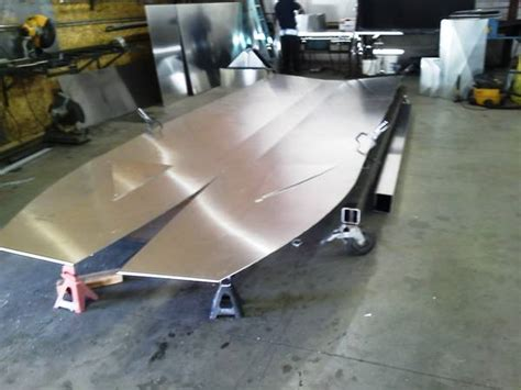 How To Build A V Drive Boat by Building An Aluminum Boat From Scratch