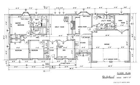 ranch style floor plans unique house plans