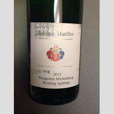 Adolph Mueller Piesporter Michelsberg Riesling Spätlese