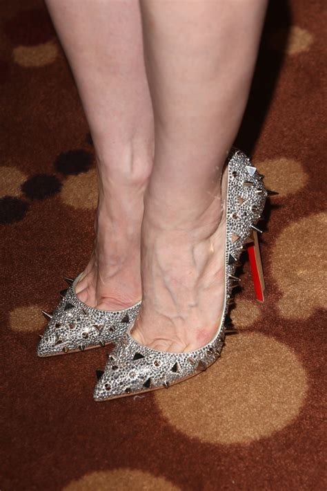 Jessica Chastain Studded Heels   Jessica Chastain Shoes