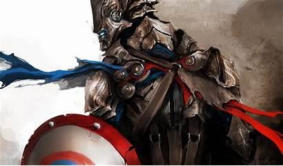 Wallpapers America Captain Avengers Medieval Superhero Thedurrrrian
