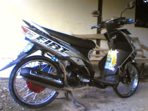 Modifikasi Mio Sporty Hitam by Modifikasi Mio Sporty Hitam Kumpulan Modifikasi Motor