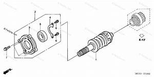 Honda Motorcycle 2004 Oem Parts Diagram For Primary Shaft