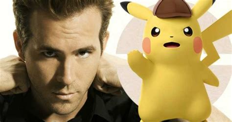 Ryan Reynolds Is Detective Pikachu In Live-action Pokemon
