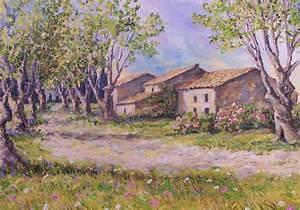 Un Mas En Provence : les mas en provence annie riviere artiste peintre ~ Farleysfitness.com Idées de Décoration