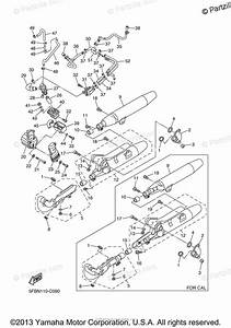 Yamaha Motorcycle 2005 Oem Parts Diagram For Exhaust