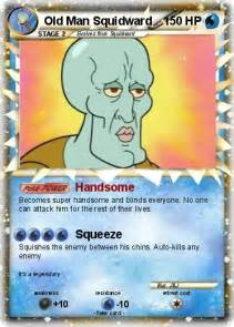 Pokemon Old Man Squidward