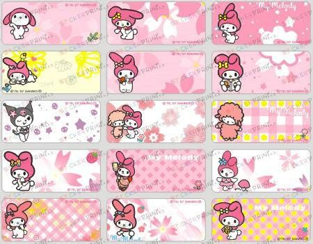 48+ Onegai My Melody Poster  Pictures