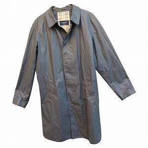 Trench Coat Burberry Homme : manteaux homme burberry trench coat coton gris anthracite joli closet ~ Melissatoandfro.com Idées de Décoration