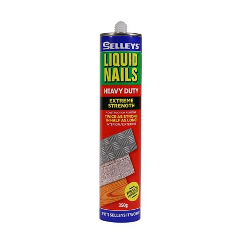 liquid nails bunnings selleys selleys 350g heavy duty liquid nails compare club