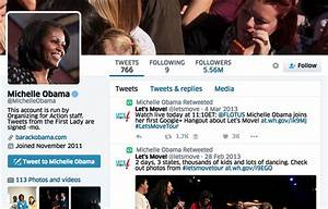HUH? Michelle Obama Deletes Tweets All The Way Back to ...