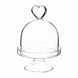 Cloche En Verre Ikea : cloche sur pied en verre h 9 cm c ur maisons du monde ~ Dailycaller-alerts.com Idées de Décoration