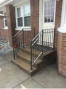 Outdoor Metal Handrails For Stairs by Chicago Wrought Iron Railings Handrails Contractor Outdoor Railings Stair R