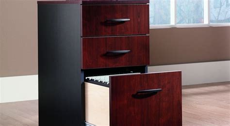 Vertical Wood Filing Cabinets Type For Office