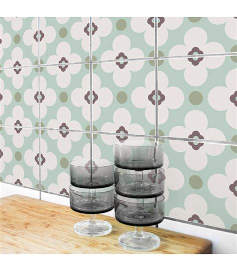 stickers pour faience cuisine stickers pour carrelage de cuisine ou salle de bain