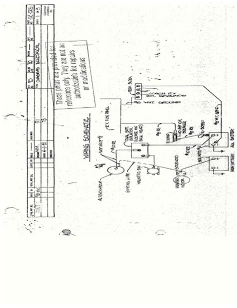 Fleetwood Pace Arrow Battery Wiring Diagram by 1983 Fleetwood Pace Arrow Owners Manuals Pace Arrow Chevy